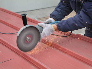 48-hour Metal Roof Fabrication
